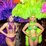 Event-Dancers-UK-Rio-Carnival-Mardi-Gras-themed-dancers-for-hire-purple-green-edit