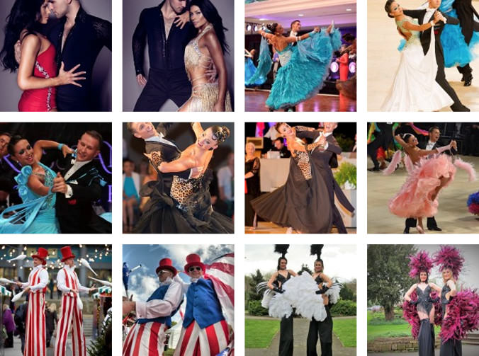 Strictly Come Dancing Style Dancers for Corporate Events