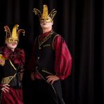 Masquerade themed speciality acts